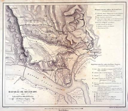 harta-belgradului-in-iunie-1717