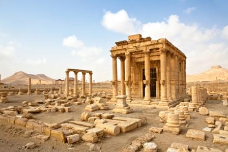 Templul lui Baal, Palmira, Siria