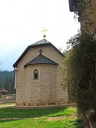 Manastir_Lovnica_-_Crkva_svetog_Đorđa